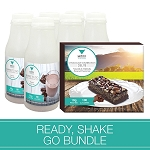 Ready, Shake, Go Bundle- Chocolate